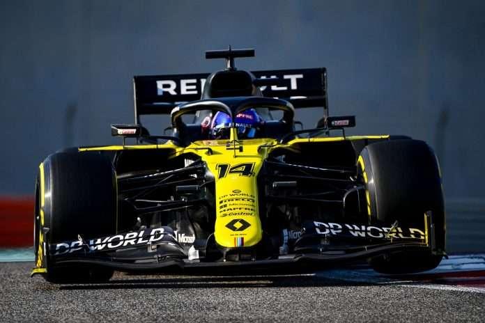 Test Abu Dhabi Alonso