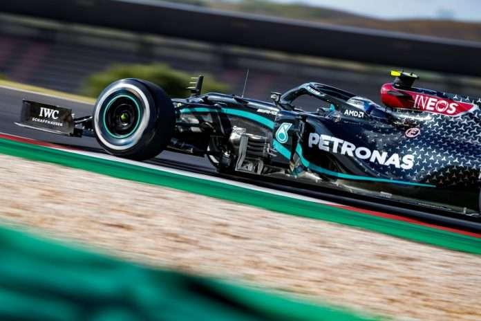 INEOS sulla Mercedes di Bottas