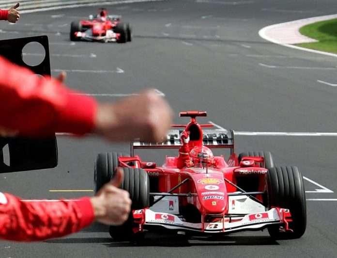 Michael Schumacher a Spa