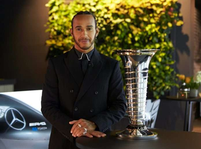 F1 Hamilton Mercedes