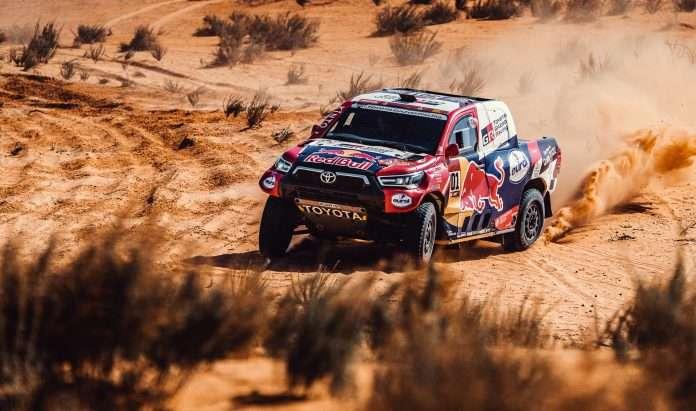 Uno scatenato Al-Attiyah conquista l'ottava tappa della Dakar 2021