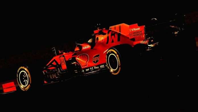 F1 Ferrari 2021