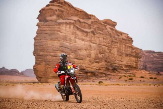 Dakar 2021 Stage 10 Moto Brabec 1