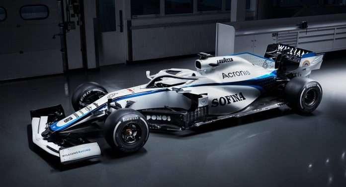 F1 Williams Mercedes
