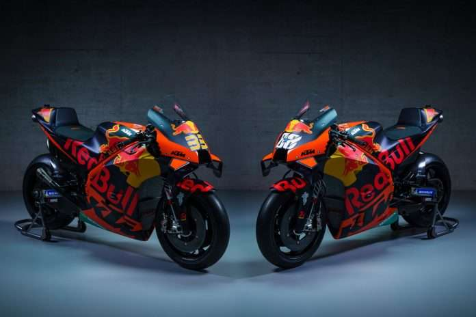 Red Bull KTM Factory Racing MotoGP Team Presentation 2021