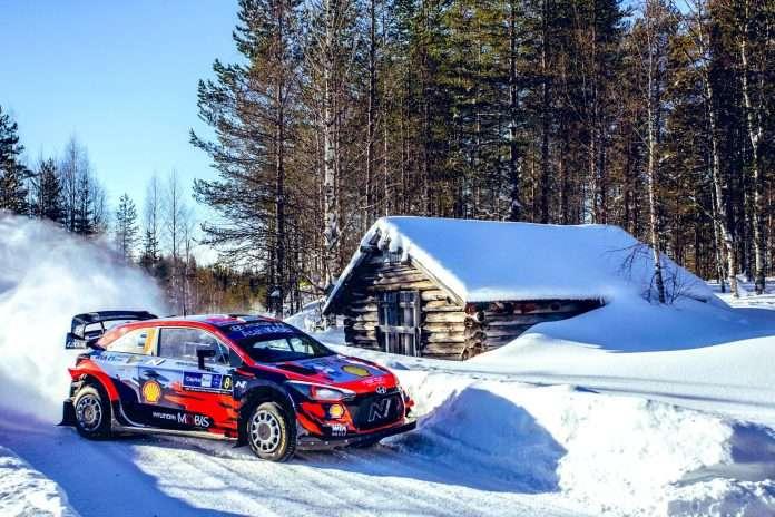 Vittoria mai messa in discussione quella di Tanak all'Artic Rally Finland