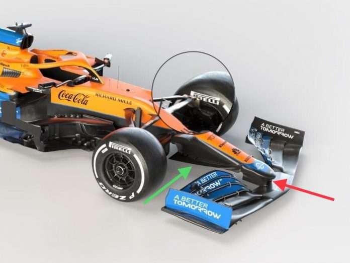 La MCL35M segna il ritorno della motorizzazione Mercedes nel team McLaren