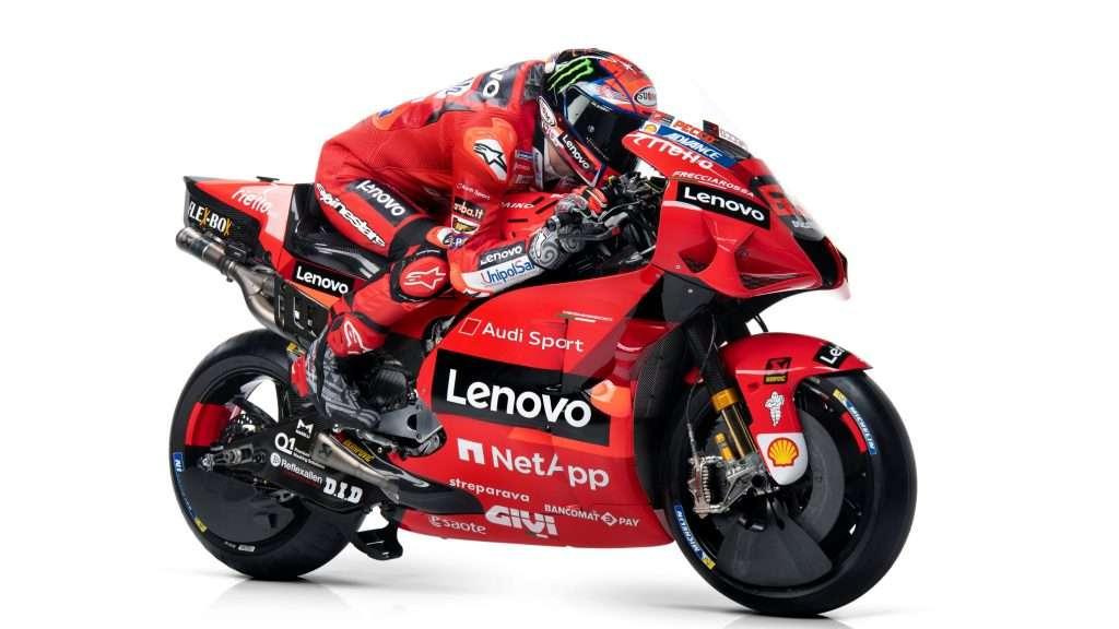MotoGP   Ducati presenta la Desmosedici GP21