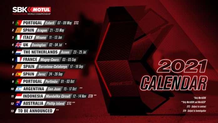 WSBK | Aggiornamento calendario: Assen a luglio, inizio all'Estoril