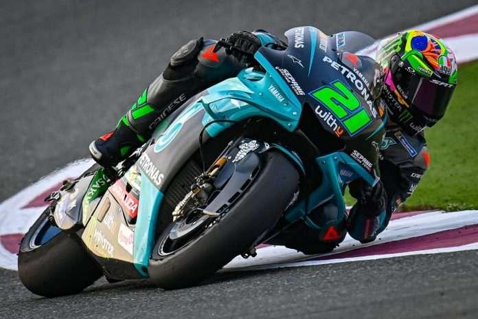 MotoGP 2021 Qatar FP1 Morbidelli 1