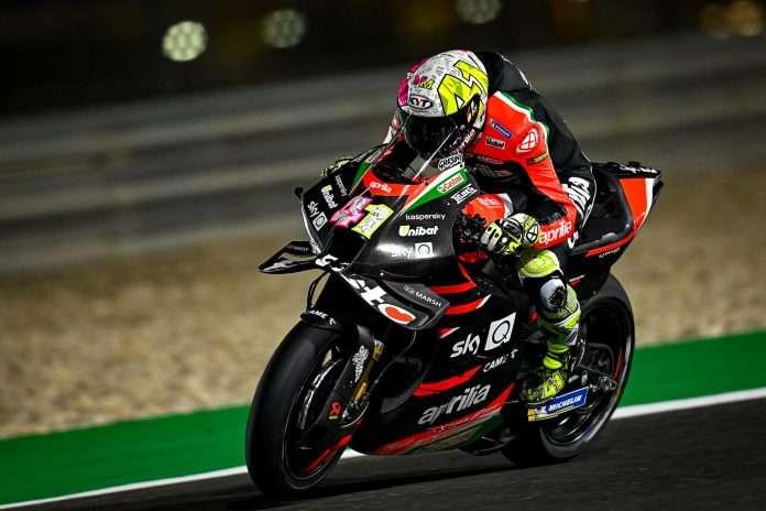 MotoGP | Qatar Test Day 1: Aprilia comanda con Aleix Espargaró, seguono Bradl e Mir