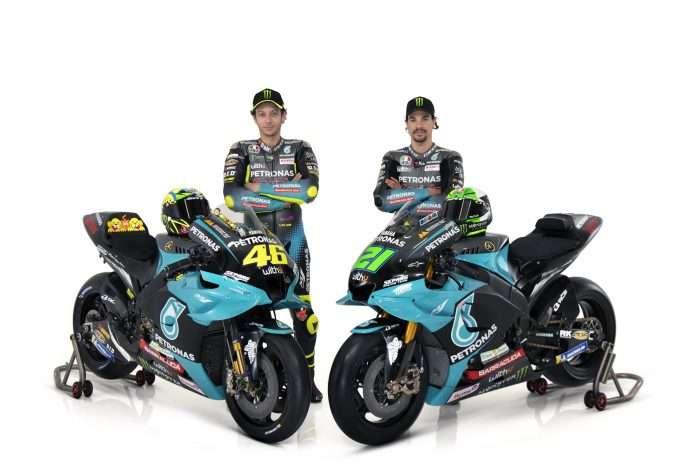 MotoGP   Petronas SRT svela le Yamaha 2021 di Valentino Rossi e Franco Morbidelli