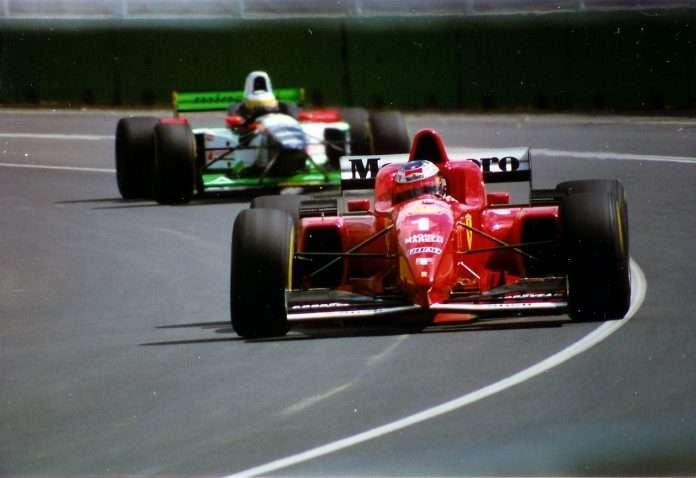 Schumacher, Australia 1996