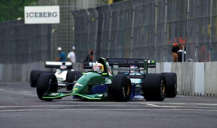 F1 Debutto Jordan