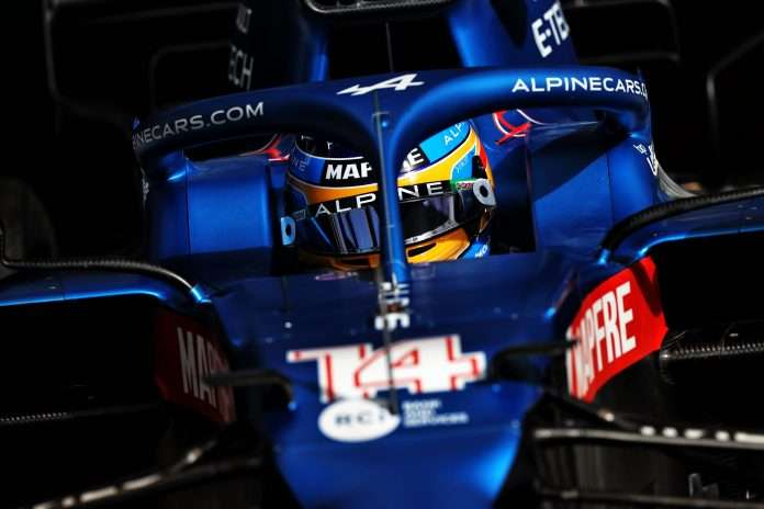 Test Fernando Alonso
