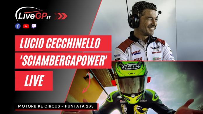 Lucio Cecchinello ospite a Motorbike Circus