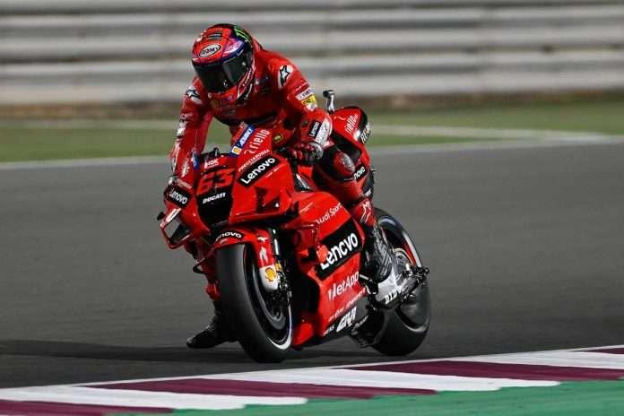 MotoGP 2021 Qualifiche Qatar Bagnaia 1