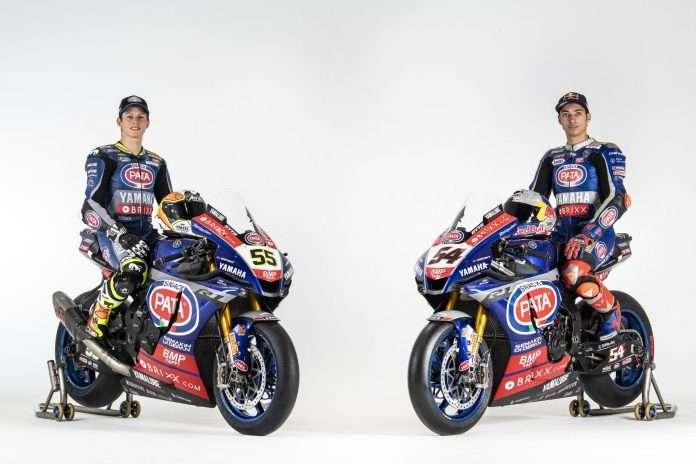 WSBK   Pata Yamaha svela le nuove R1 a Barcellona