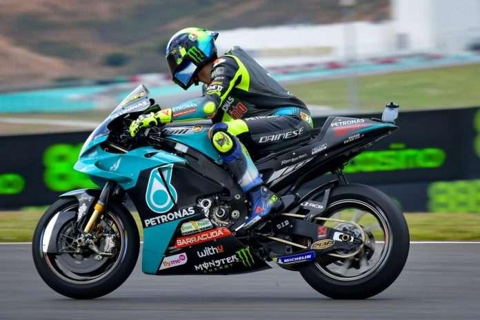 MotoGP   La frustrazione di Valentino Rossi, passo lento, caduta e zero punti