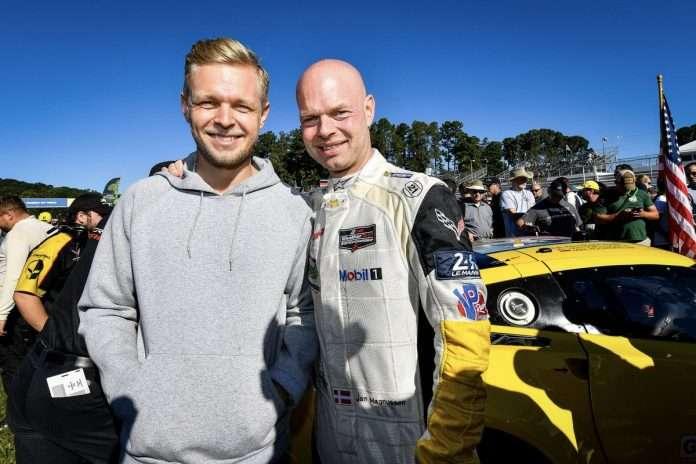 Jan and Kevin Magnussen 24h Le Mans