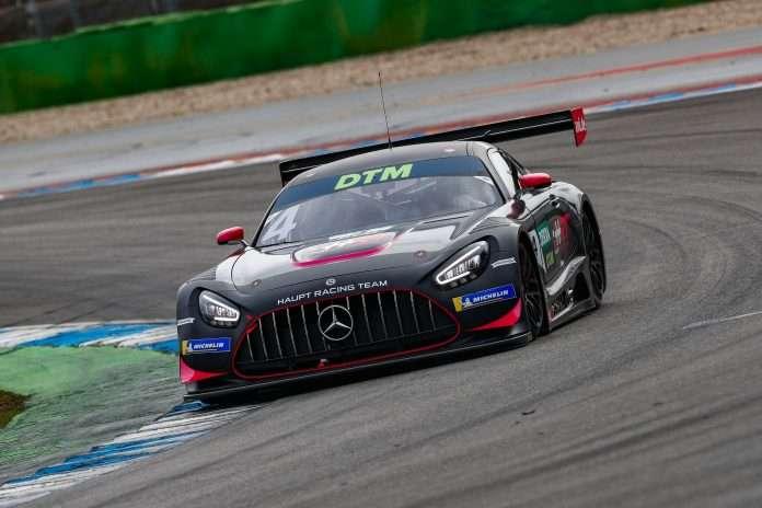 Le Mercedes dettano il passo nei test DTM