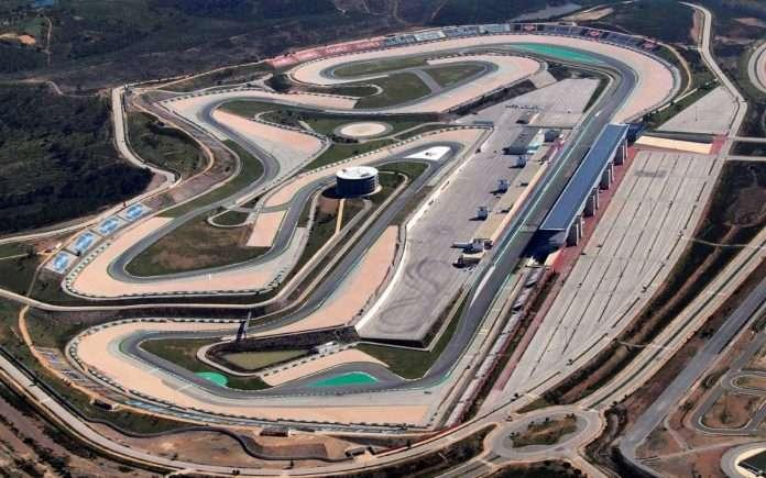 Portimao, sede del Gp del Portogallo, vista dall'alto