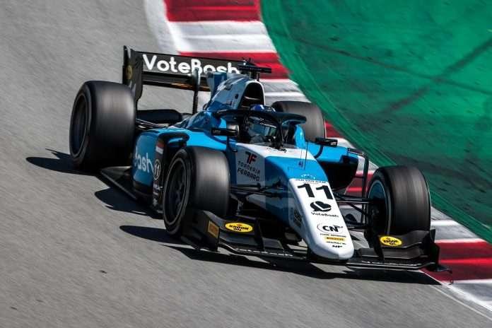 Richard Verschoor leader della seconda giornata di test F2