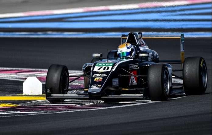 Tim Tramnitz, US Racing, ha conquistato la seconda manche dell'Italian F4