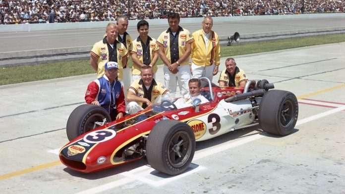 Bobby Ubser alla 500 Miglia del 1968