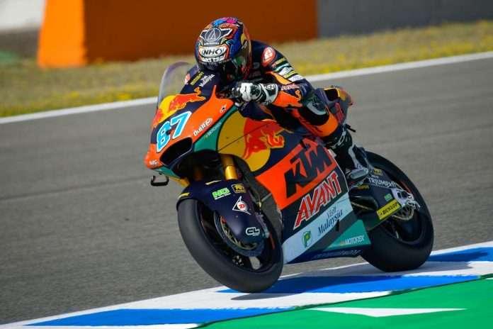 Moto2 | GP Spagna, qualifiche: Pole spaziale di Gardner a Jerez