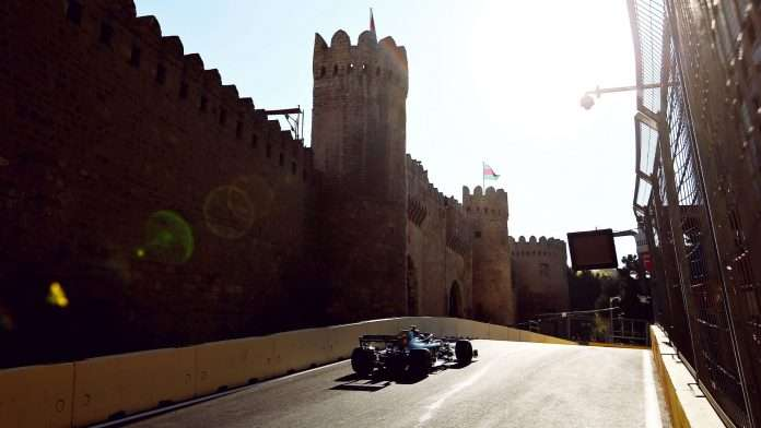 Il Castello di Baku, scenario da favola per il GP dell'Azerbaijan