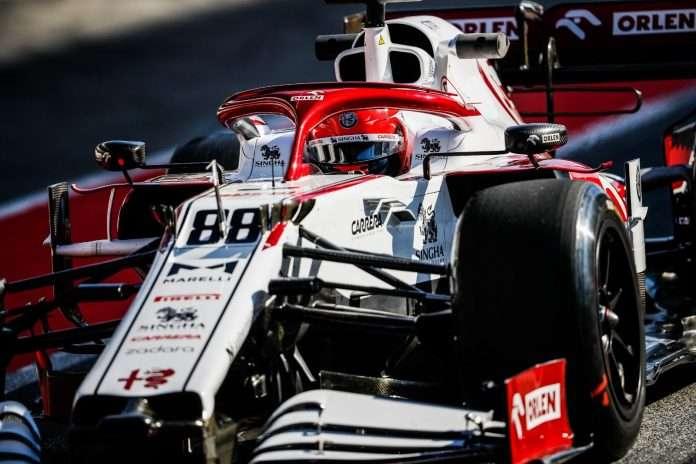 Test Pirelli Barcellona