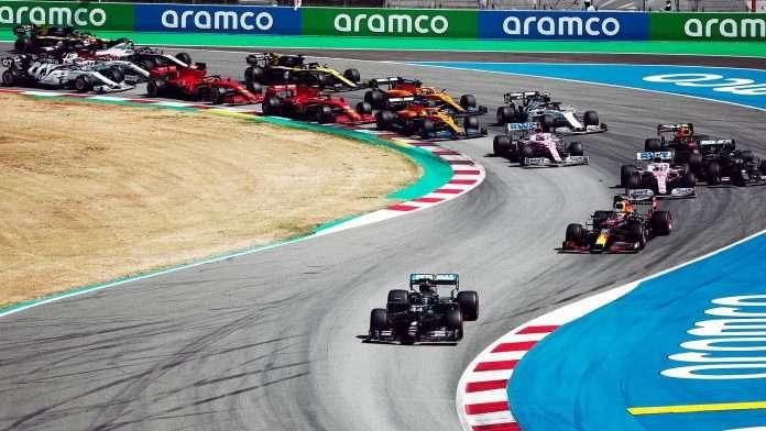 Le prime fasi del GP di Spagna 2020