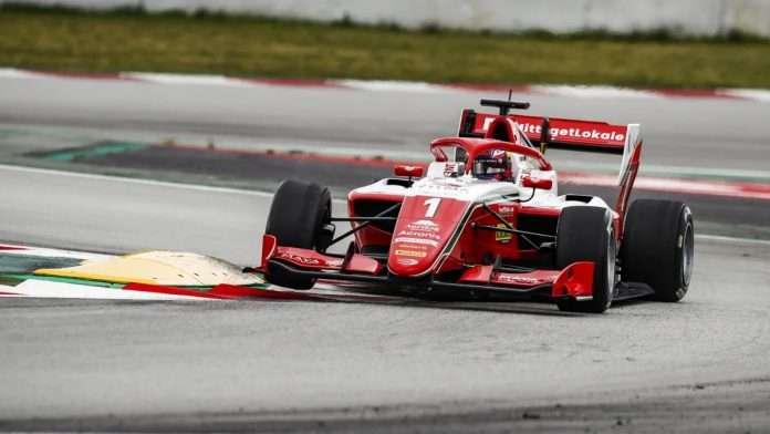 Hauger Prema Barcellona FIA F3