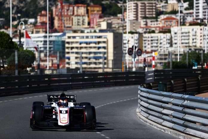 Pourchaire Monaco 2021 FIA F2