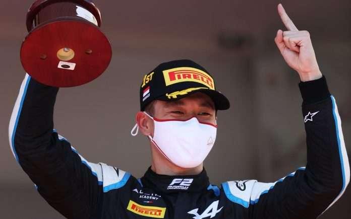 Zhou Monaco 2021 FIA F2