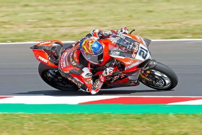 Michael Ruben Rinaldi, Aruba.it Racing - Ducati, trionfa al Misano World Circuit