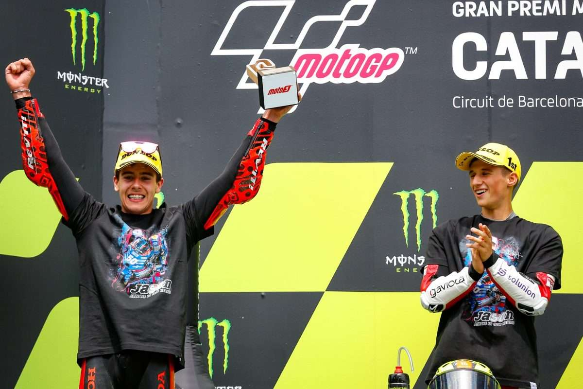 Moto3 | Garcia e Alcoba sul podio nel GP della Catalunya