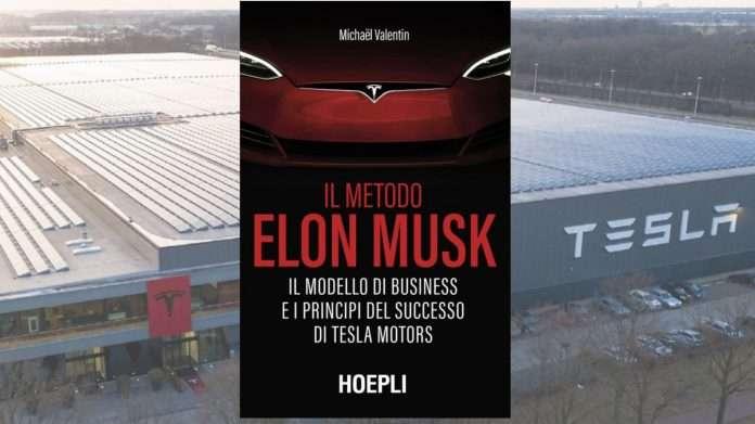 """La copertina de """"Il metodo Elon Musk"""" scritto da Michël Valentin ed edito da Hoepli"""