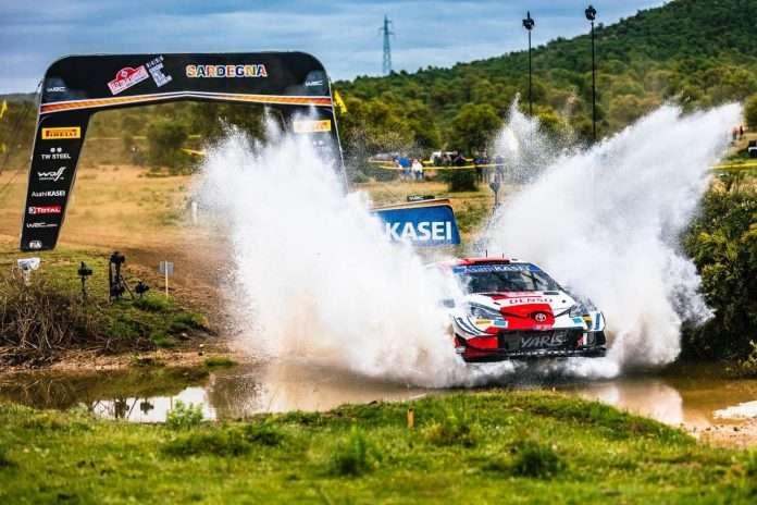 Ogier ha regalato il primo successo alla Toyota in Sardegna