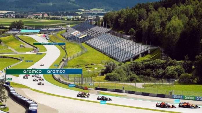 I saliscendi del Red Bull Ring, sede del GP di Stiria