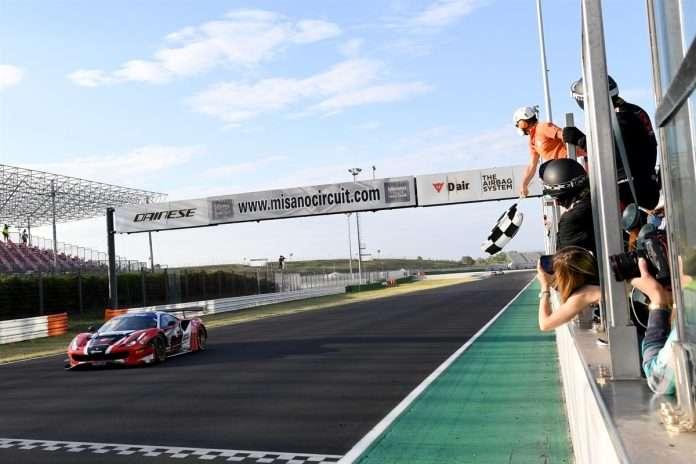 La vettura Easy Race trionfatrice in gara-2 a Misano