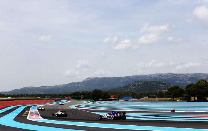Le prime fasi della gara di stamani al Paul Ricard