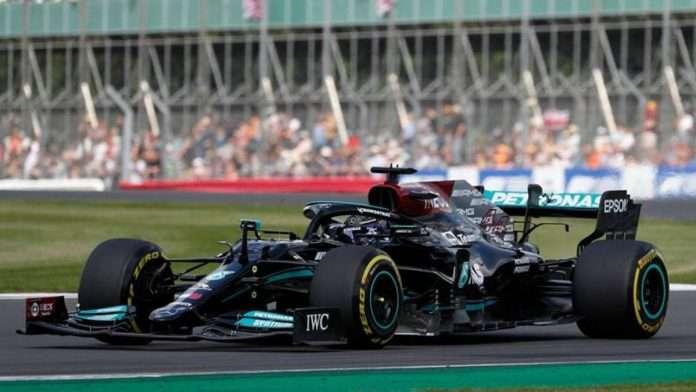 Lewis Hamilton vincitore del GP di Gran Bretagna