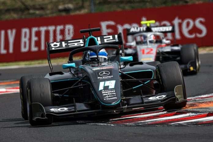 Nannini FIA F3 Ungheria