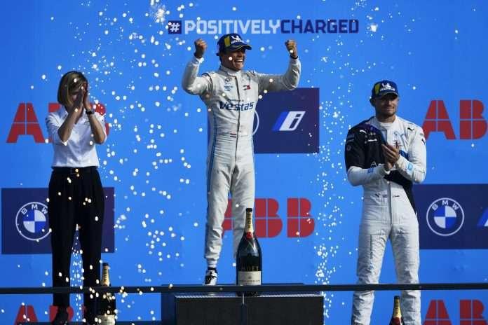 F.E, il podio della season 7