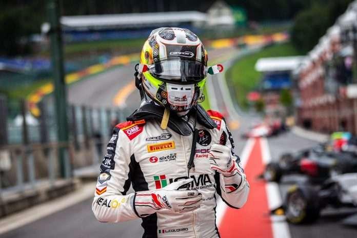 Lorenzo Colombo, vincitore di gara-1 a Spa Francorchamps