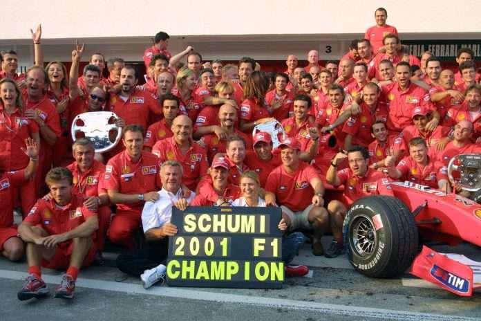 2001 Schumi Ferrari