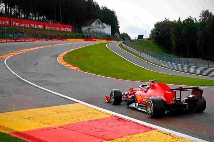 Spa-Francorchamps: Leclerc impegnato a Eau Rouge