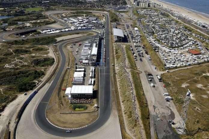 La pista di Zandvoort, dove domenica si disputerà il GP d'Olanda